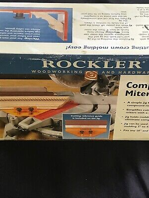 Rockler Compound Miter Jig Item 67626 - New in Original Box