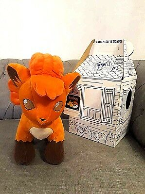 **** New Retired Build A Bear Vulpix With Tag And Box ****