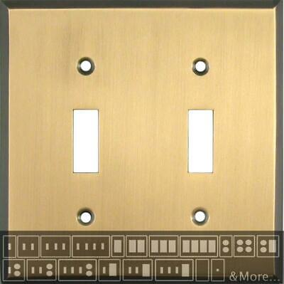 Antique Brass   Switch Plates, Wall Plates & Outlet Covers