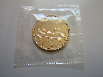 2003 Canada Loonie One Dollar Coin (Rare in Mint Cello UNC.) (RJ548)