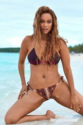 inch A137 TYRA BANKS 2019 Sports Illustrated Swimsuit Poster Print 24 x 36