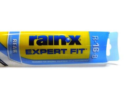 Rain-X Expert Fit Rear Wiper Blade, 16 Inch Refill Replacement R-16-B