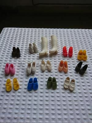 Vintage Sindy  Boots,Ballet Shoes/Mules/Trainers/High Heels-14 Pairs