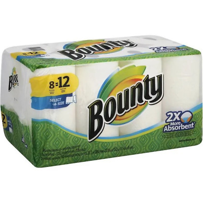 Bounty Select-A-Size Paper Towels - Giant Rolls
