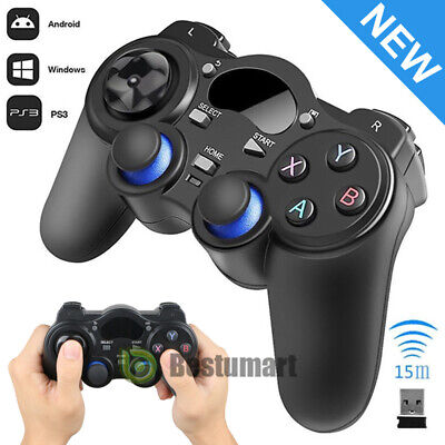Wireless USB Game Controller Gamepad Joystick for Android TV Box Laptop PC 2019