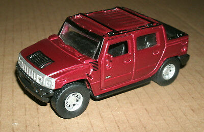 "1/46 Scale Hummer H2 SUT Concept Pickup Truck Diecast Model 4"" Toy - Maisto H2T"