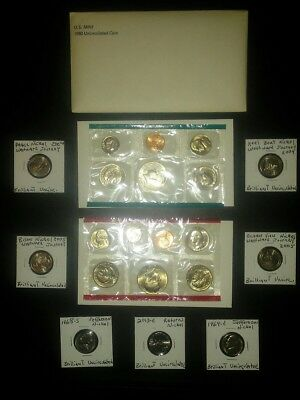 COIN LOT COLLECTION +MINT SET+3 dollars+WESTWARD JOURNEY NICKELS +no junk drawer