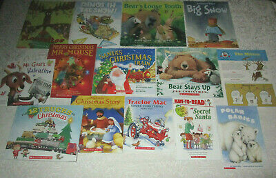 Mixed Lot of 14 Christmas Holiday Winter Theme Teachers PreK-Kindergarten
