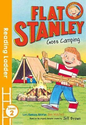 Flat Stanley Goes Camping Blue Banana by Jeff Brown 9781405282086   Brand New