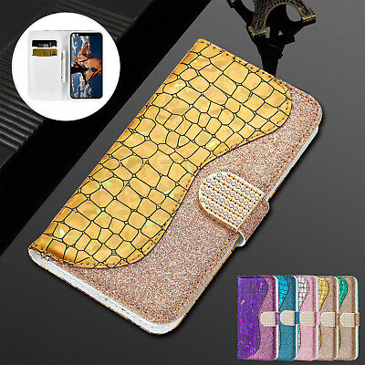 For iPhone 8 7 Plus 6s XS Max XR Case Deluxe Leather Magnetic Flip Wallet Cover