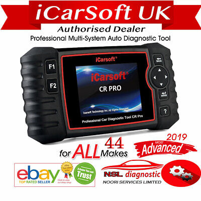 iCarsoft CR Pro Multi-System Diagnostic Tool ALL MAKES Official Outlet DPF SRS