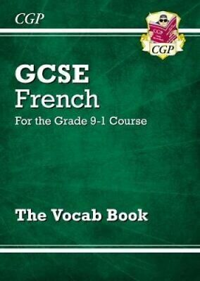 New GCSE French Vocab Book - for the Grade 9-1 Course by CGP Books...