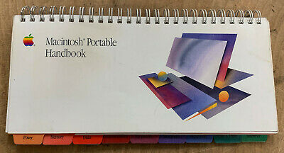 Apple Macintosh Portable Handbook P/N: 030-3278-B