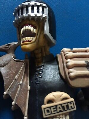2000AD Rebellion Judge Death Statue By Robert Harrop Designs