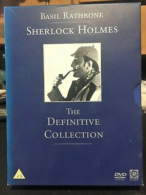 Sherlock Holmes ~ The Definitive Collection ~ DVD