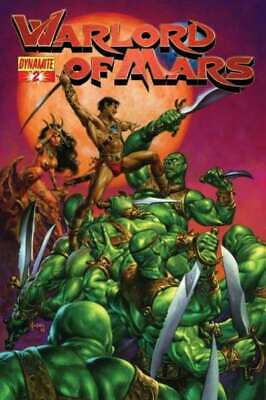 Warlord of Mars #2 in Near Mint condition. Dynamite comics [*2p]