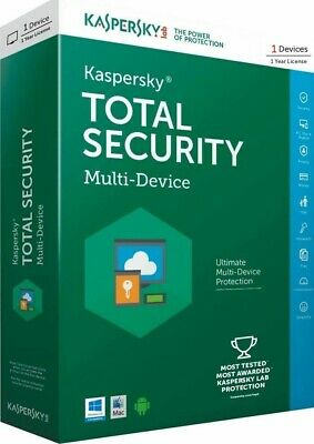 Kaspersky Total Security 2019 1Device 1 year Global Fast Shipping