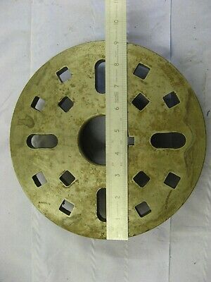 """Colchester Harrison Lathe 9 """" Face Plate LOO"""