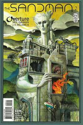 Sandman: Overture #2 in Near Mint + condition. DC comics [*b5]