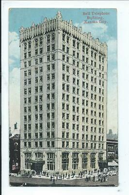Bell Telephone Building, Kansas City, Missouri Postcard