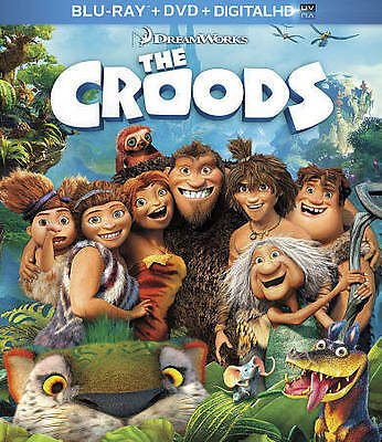 The Croods (Blu-ray/DVD, 2013, 2-Disc Set, Includes Digital Copy) BRAND NEW SEAL