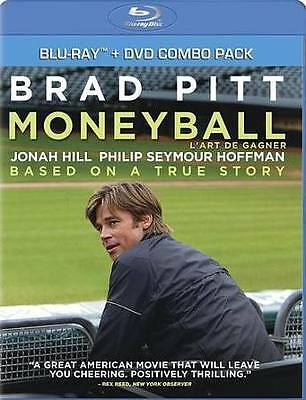 Moneyball (Blu-ray/DVD, 2012, 2-Disc Set, Canadian) NEW