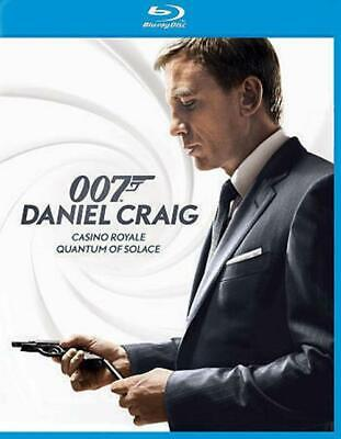 Quantum of Solace/Casino Royale (Blu-ray Disc, 2013, 2-Disc Set) BRAND NEW SEAL