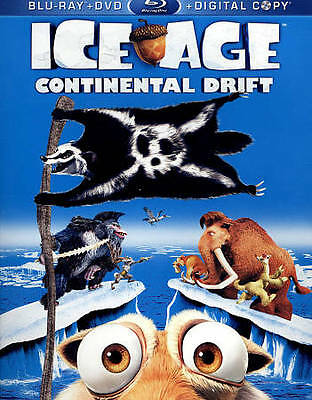 Ice Age: Continental Drift (Blu-ray/DVD, 2012, 2-Disc Set, Includes Digital Copy