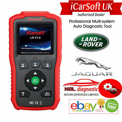 Icarsoft Lr V1.0 Land Rover Jaguar Obd2 Car Diagnostic Code Scanner Reset Tool