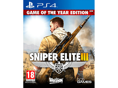 PS4 Sniper Elite III - Ultimate Edition