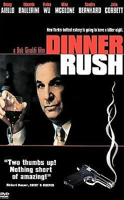 Dinner Rush (DVD, 2003, Widescreen and Full Frame) DISC IS MINT