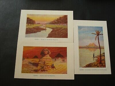 Lot 6 Pc Egypt Egypte Le Caire Cairo