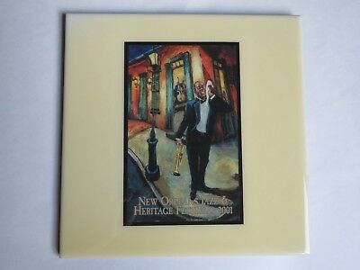 Festival TILE ~ New Orleans Jazz & Heritage Fest Art4Now ~ 2001 LOUIS ARMSTRONG