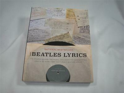 The Beatles Lyrics:The Stories Behind the Music, Including the Handwritten Draft