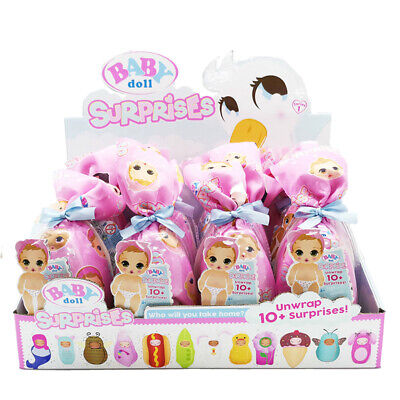 BABY BORN Surprise Blind Pack Unwrap Surprises Boy Girl Wake Feed Me I Pee LOL