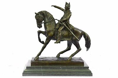 Statue Sculpture Napoleon French Style Bronze Signed Hot Cast Figurine Figure