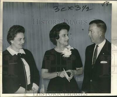 1965 Press Photo Attendees, Military Order of Foreign Wars, Louisiana Commandery