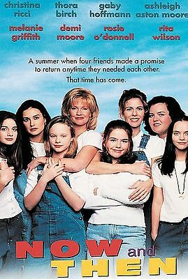 Now and Then DVD 1999 MOVIE Christina Ricci Thora Birch Demi Moore Gaby Hoffmann