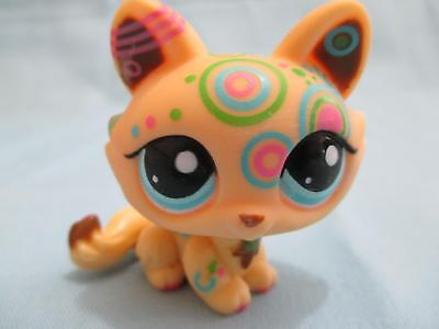 Littlest Pet Shop Crouching Kitty Cat Postcard Tattoo 1839 Lps Authentic