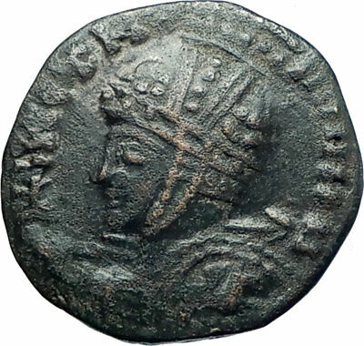 CELTIC Barbarous style of ANCIENT Roman Coin of CONSTANTINE I the GREAT i79257