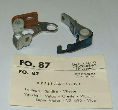 Contacts Points Contacts Pins Triumph Vauxhall FO87