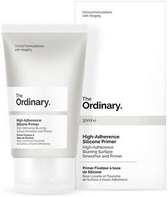 The Ordinary High Adherence Silicone Primer 30ml Non Greasy Make Up Smooth Skin