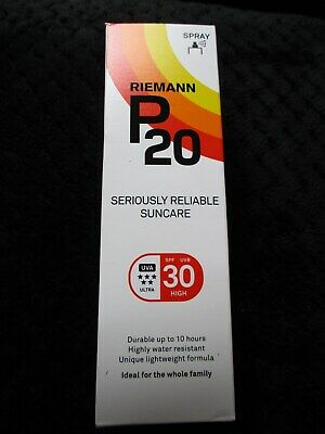 Riemann P20 Once a Day Sun Protection Spray SPF 30 Water Resistant 100ml