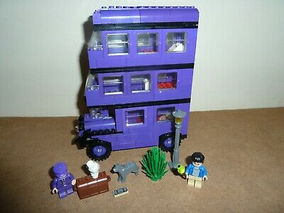 Potter Complete Lego 4755 Figs Edition 1st All Knight Harry Bus Instructions orxdBeCW