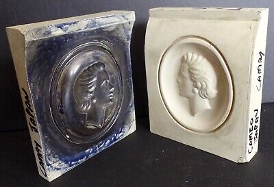 Vintage Japanese Camay Soap Mold Maquette - Factory Sculpture Art Industrial