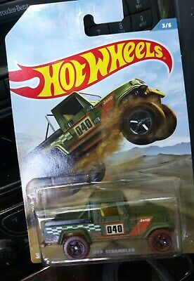 Hot Wheels Off Road Truck Series JEEP SCRAMBLER