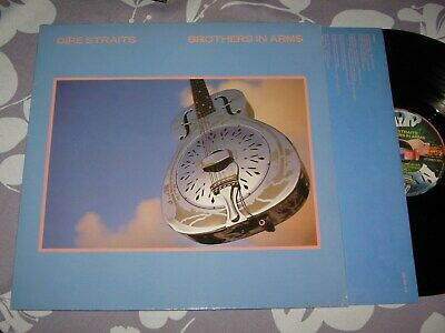 LP: Dire Straits - Brothers in arms, 1985, 1,--