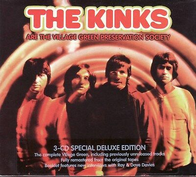 The Kinks ' Are the Village Green Preservation Society ' 3 CD album in digipack