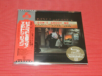 2019 ELTON JOHN Don't Shoot Me I'm Only The Piano Player  JAPAN MINI LP SHM CD