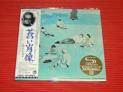 2019 ELTON JOHN Blue Moves  JAPAN MINI LP 2 SHM CD SET